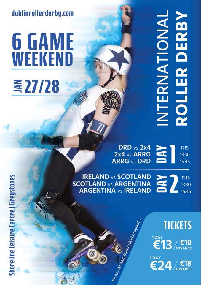 Dublin Roller Derby Double Triple Header